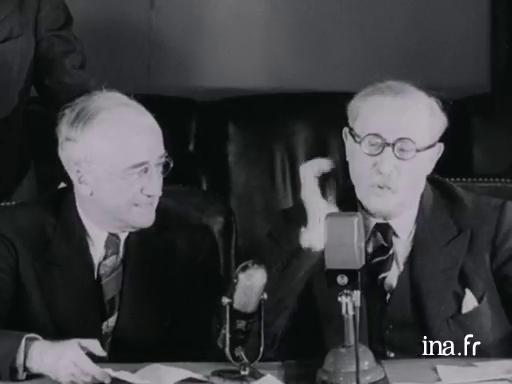 La signature des accords Blum-Byrnes (1946) - Lumni   Enseignement
